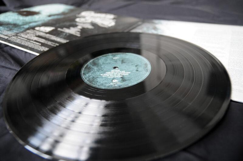 GRABER - Lieder zum Schluss, Vinyl-LP, 2011. Vinylplatte mit Label.