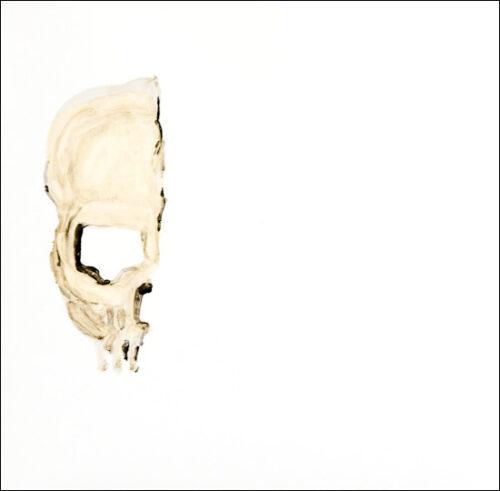Originalzeichnung #8 von Peter Radelfinger zur limitierten Vinyl-Edition der «Lieder zum Schluss». ©Peter Radelfinger, 2011.