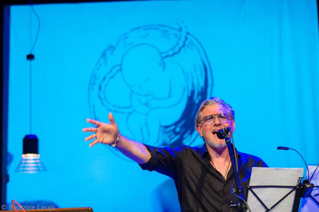 GRABER live am Literaturfest Aprillen, Bern.